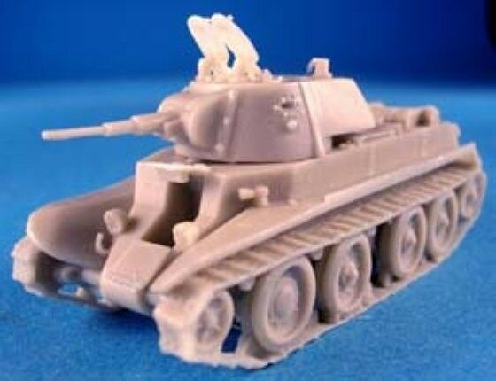 Model 1937 Milicast BR04 1//76 Resin WWII BT7 Fast Tank