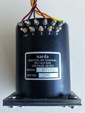 NARDA MODEL SEM143DT RF COAXIAL SWITCH DC-18.0GHz