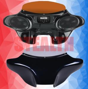 Yamaha Roadstar Motorcycle Fairing 2 Speaker Batwing 2010-2014