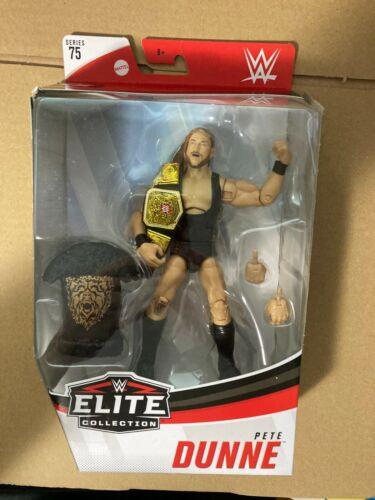 WWE Wrestling Elite Collection Série 75 Pete Dunne avec ceinture Figure Pkg DMG
