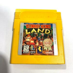 Donkey Kong Land Nintendo Game Boy Color Game - Tested -  Working - Authentic!
