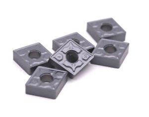 10pcs-CNMG432-TF-CNMG120408-TF-IC907-carbide-inserts-lathe-turning-carbide-bits