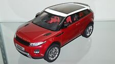 1/18 WELLY GT AUTOS LAND ROVER RANGE ROVER EVOQUE RED rd