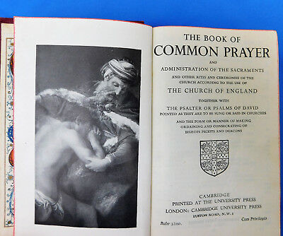 Vintage 1930s Prayer Book A & M 1939 Gaitsgill Sunday School prize Dalston WW2