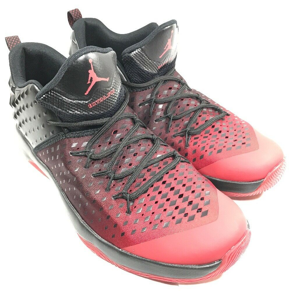 Special limited time Air Jordan Extra Fly Black Red Bred Men Basketball Shoes Sneakers 854551-610  14