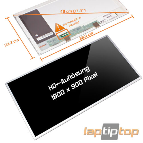 "Display a LED SCREEN 17,3/"" Sony Vaio pcg-71411m Glossy"