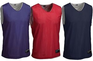 New-Balance-Men-039-s-Reversible-Top-Tanks-Sleeveless-Basketball-T-Shirt-NEW-Tee