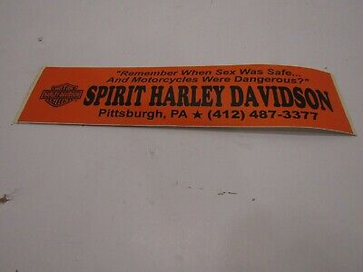 KURYAKYN MILES AHEAD HARLEY DAVIDSON MOTORCYCLE DECAL STICKER