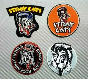 M212 PATCH ECUSSON STRAY CATS REBELS 8 CM