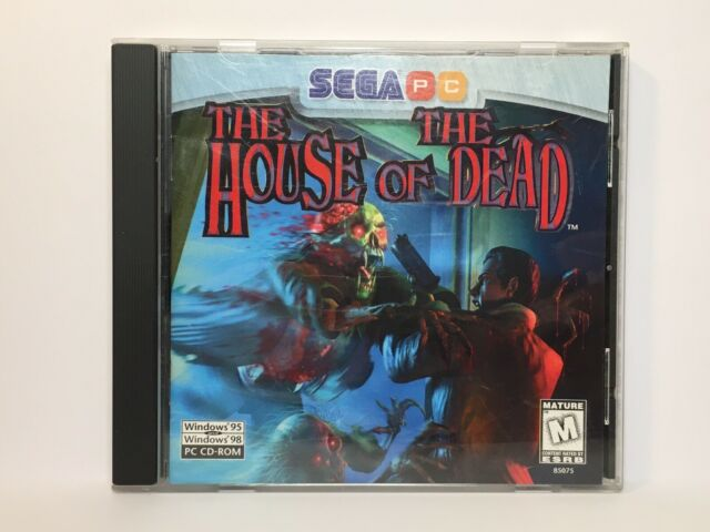 The House Of The Dead Pc 1996 For Sale Online Ebay