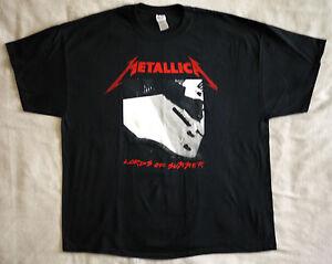 Metallica-official-T-shirt-034-Lords-of-summer-034-XXL-New-black