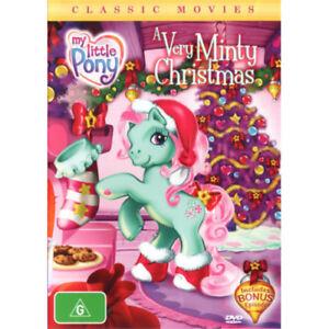 My-Little-Pony-A-Very-Minty-Christmas-2005-NEW-DVD-Region-4-Australia