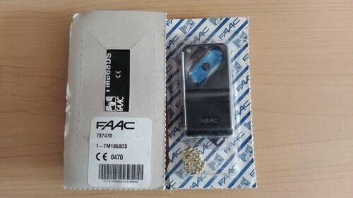FAAC TM1868DS telecommande