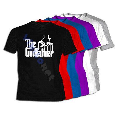 Camiseta The Godfather XXL- XL- L- M- S Size El Padrino Film DVD T-Shirt 01 Tee