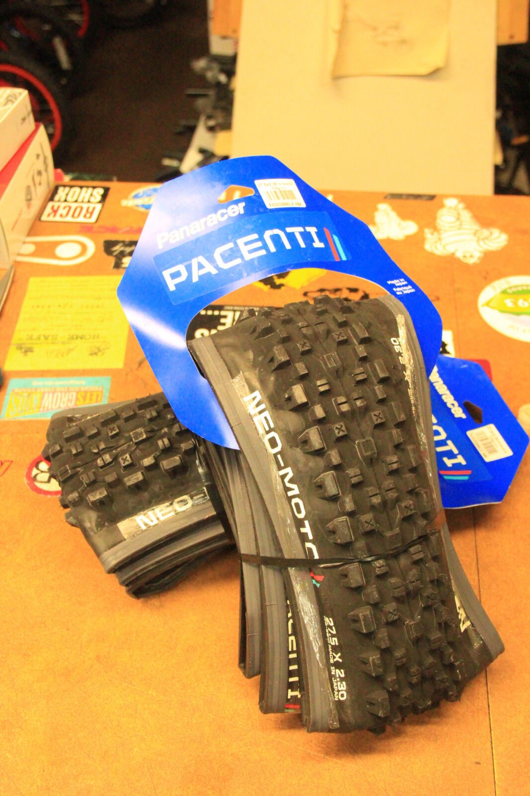 Panaracer Neo-Moto 27.5 x 2.30 Enduro Folding Mountain Bike Tires