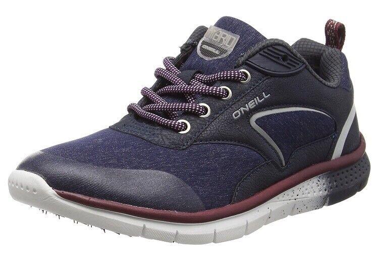 O'Neill Zephyr Lt W Sl Sneakers, Blau (Denim Melee), 8 UK 42 EU