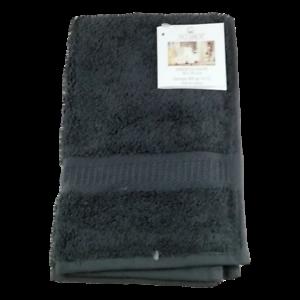 Serviette invité 30 x 50 cm 100% Coton 600gr/m2 Gris Anthracite