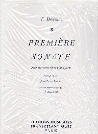 DEVIENNE SONATA Op58 No 1 Eminor FLUTE /& PIANO