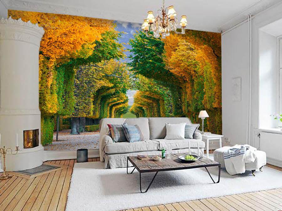 3D Schöner Park Baum 754 Tapete Wandgemälde Tapete Tapeten Bild Familie DE Lemon | Online Outlet Shop  | Komfort  | Vorzugspreis