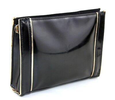 ff4b9042f2cf 100% Auth Yves Saint Laurent Beaute YSL Cosmetic Bag Pouch Makeup Clutch Bag