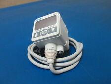 SMC ISE40-T1-22L Vacuum Pressure Switch - DC 12-24V Pressure -.100 to 1.0MPa