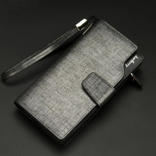Leather Zipper Wallet Luxury Brand Baellerry Long Business Coin Purse Accessory