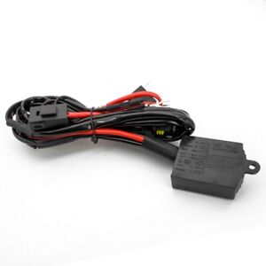 Hi/Lo HID Controller H4 HID Relay Bi-xenon Harness Wirring ... on