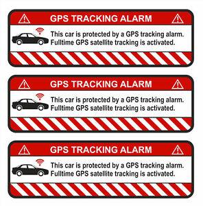 3er-Set-GPS-Auto-Weiss-Aufkleber-Folie-Diebstahlschutz-Alarm-Tracker-R054