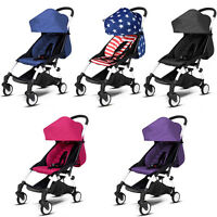 One-key Fold Outdoor Baby Stroller Travel System Small Pushchair Carriage