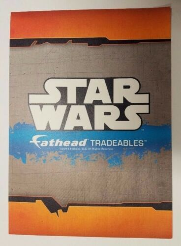 "New #20 Lando Calrissian Star Wars Fathead Tradeables 5/"" x 7/"""