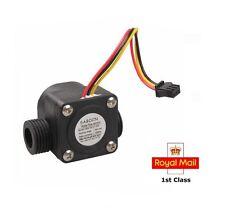 "Water Flow Sensor 1/2"" Fluid Flowmeter Switch Counter 1-30L/min Meter  NEW"