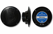"5"" Full Range Marine Audio Speaker VX-150BX BLACK Boat Spa Hot Tub RV -PAIR-NEW"