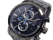 Seiko Men's Chronograph Watch SNAF49P1 Warranty, Box, RRP: £300