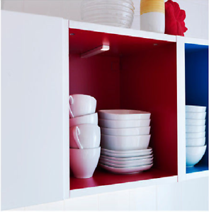 Image Is Loading Ikea Omlopp Led Strip Or Round Spotlight Counter