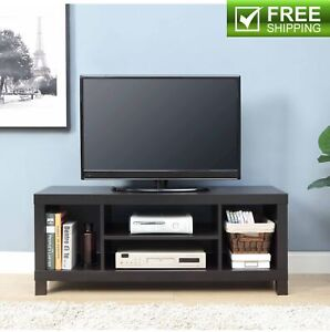 Details About 60 Tv Stand Brown College Dorm Furniture Stereo Media Entertainment Center New