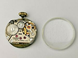 Tissot 15 Jewels Ladies Mechanical Watch Movement, Dial, Hands & Crystal