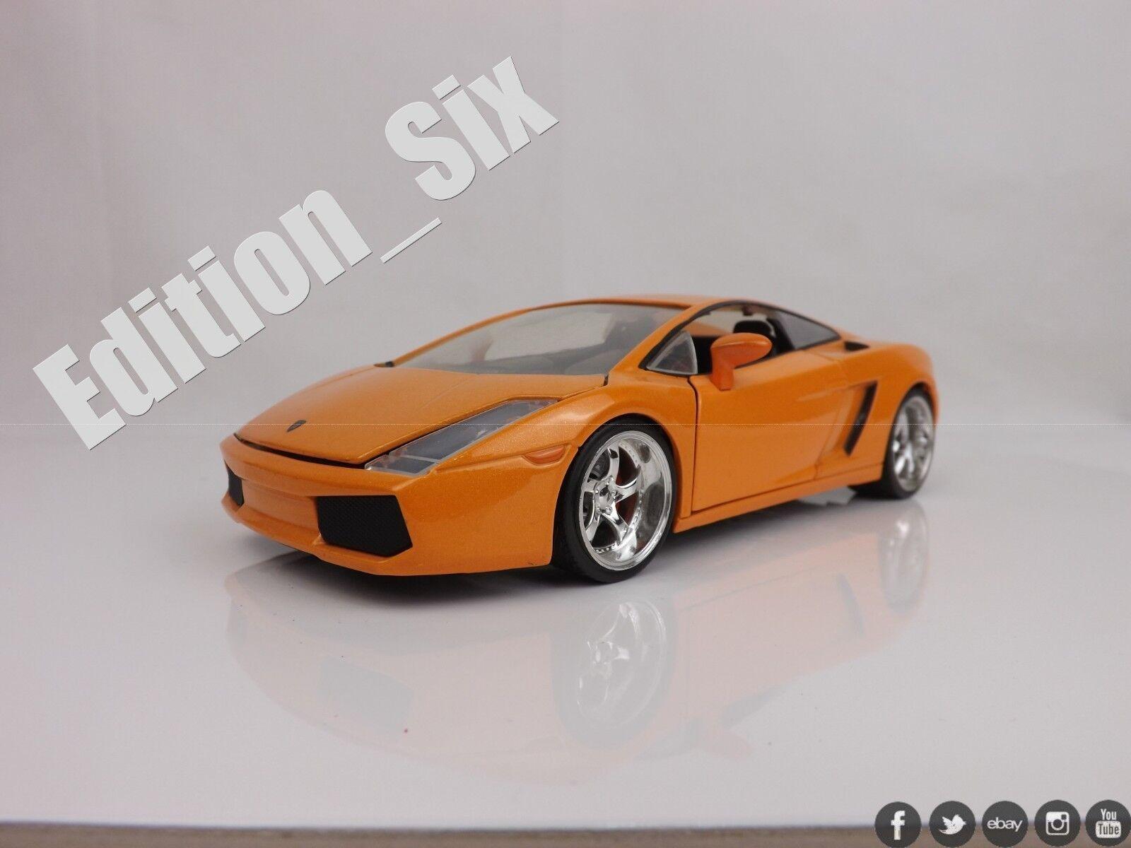Jada toys 1 24 LAMBORGHINI GALLARDO Super Sports car model