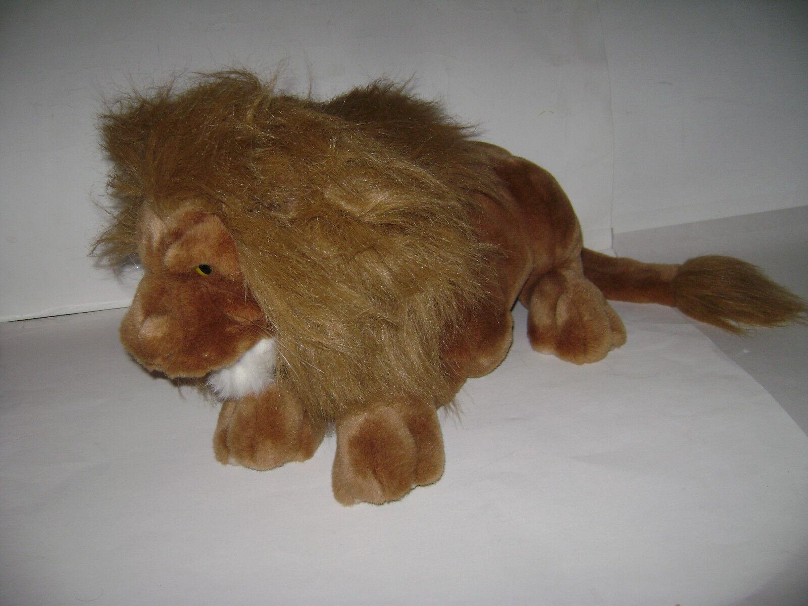 Folkaires Folkmainis Valpar LION Hel Body Hand Puppet Plush Fylld LAGE 22