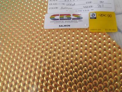 "Dichroic Glass Sheet:CBS 96 COE Black Cherry on Radium Textured Black 3/"" Sq"