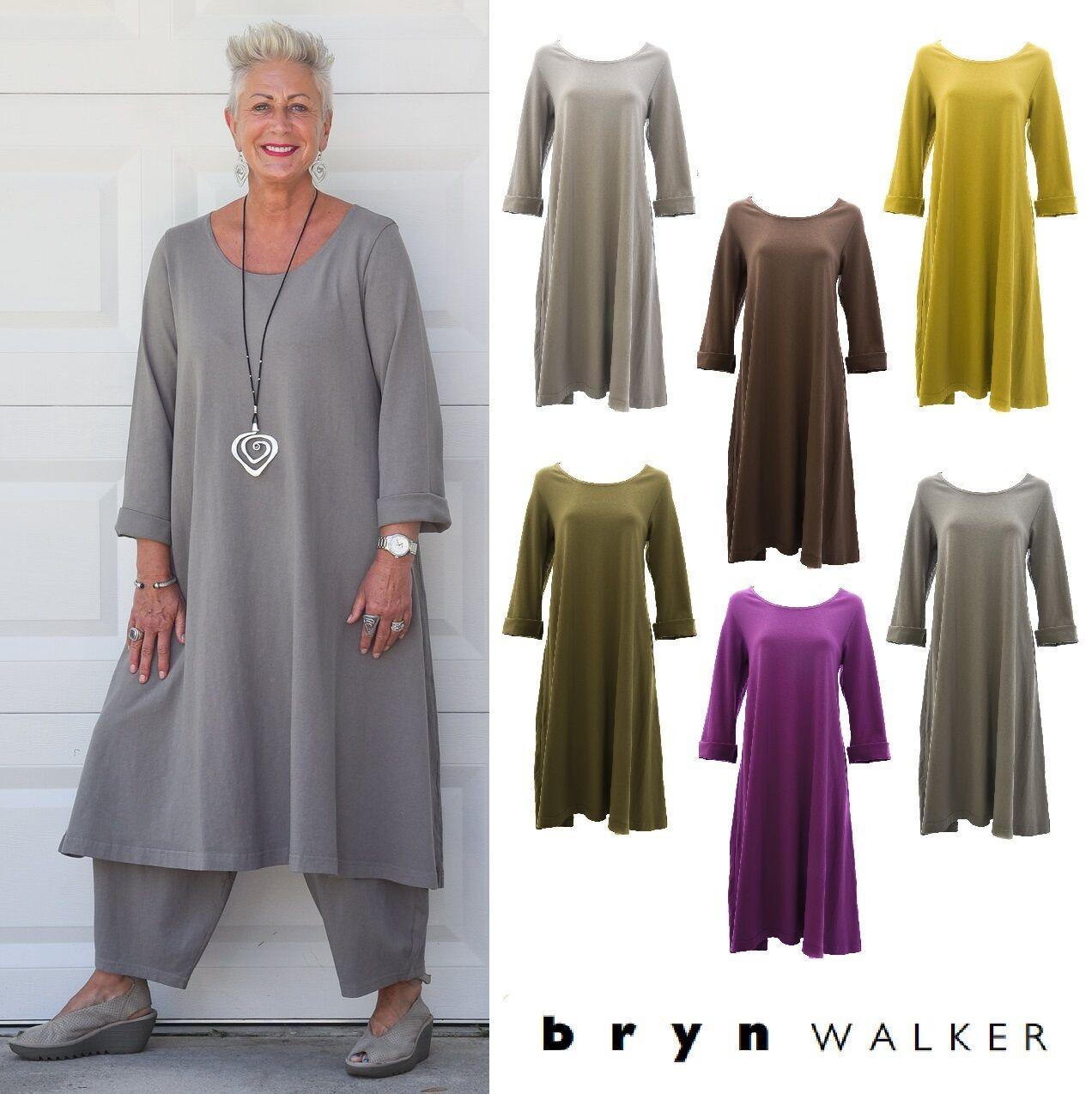 PACIFICOTTON Bryn Walker Pacific Cotton  LINUS DRESS  A-Line S M L XL  FALL 2017