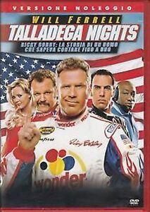 Talladega-Nights-Ricky-Bobby-2006-DVD-RENT-NUOVO-Sigillato-New
