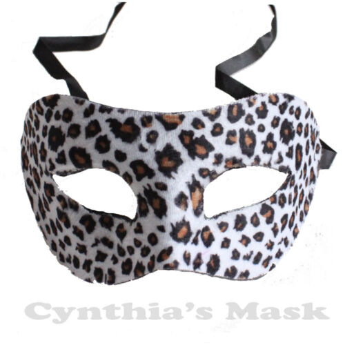 Animal Print Eye Mask Masquerade Leopard Tiger Costume Party Prom Costume