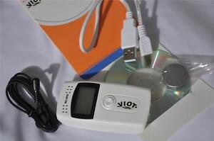 Digital Thermometer Hygrometer Indoor/Outdoor Temperature Data Logger Food Truck