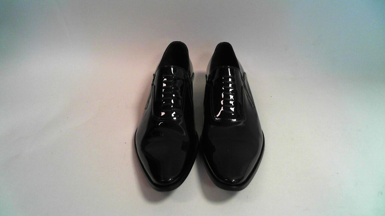 Bespoke HQ Vero Cuoio Vernice Col. NE Men's Dress Shoes Italian Patent Leather