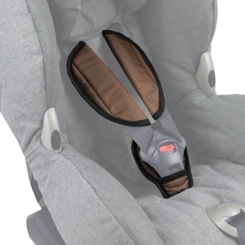 BAMBINIWELT Gurtpolster Schrittpolster für Autositz Kinder f Maxi-Cosi GRUPPE 1