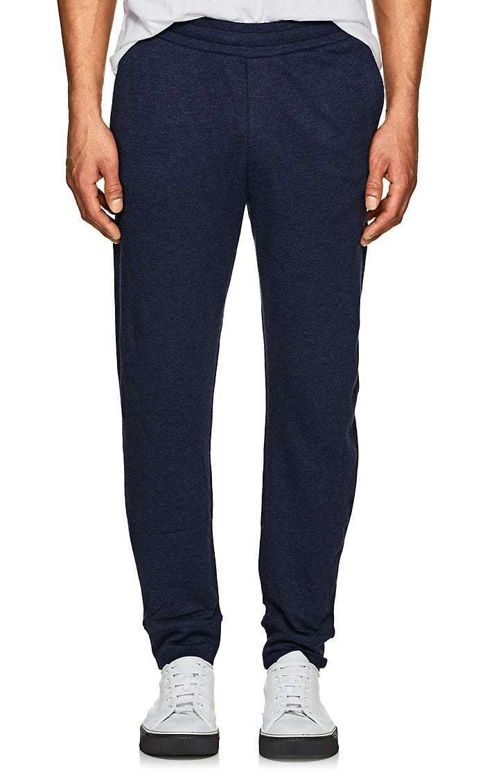 Ralph Lauren lila Label Melange Jersey Lounge Sweat Pants New 395