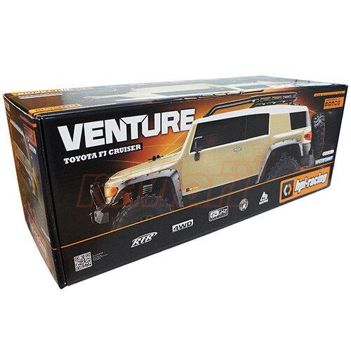 HPI  Racing Venture giocattoloota FJ Cruiser Sestorm 1 10 4WD RTR Radio RC auto  117165  qualità autentica