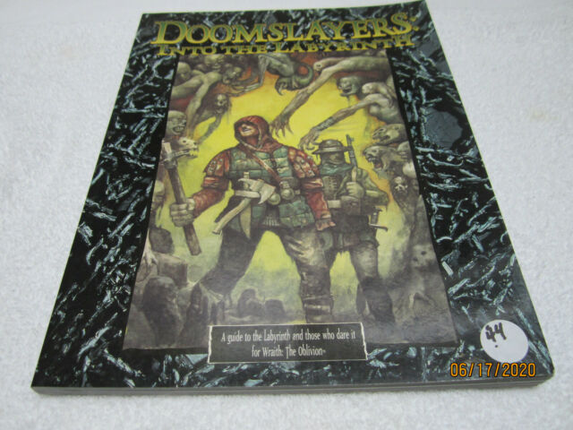 Doomslayers Into The Labyrinth Wraith The Oblivion White Wolf New!