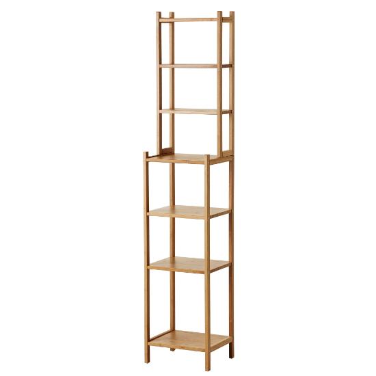 Rågrund Ragrund Regal Badezimmer Gopån GOPAN Bambus IKEA 163x33x28cm
