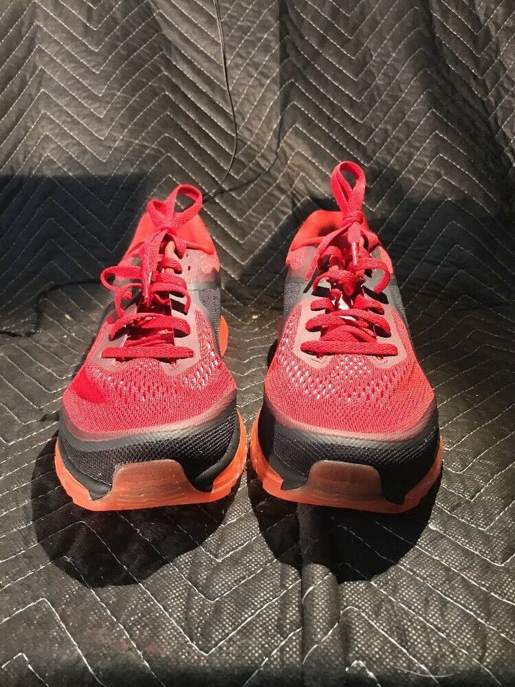 Nike Air Max 2014  Size 10.5 Gym Red/Reflect Silver-Hyper Punch  621077-601